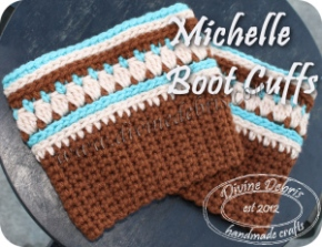 Michelle Boot Cuffs from Divine Debris